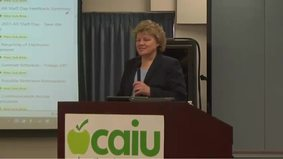 CAIU Communications Meeting April 2, 2014