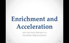Gifted in PA_ Enrichment and Acceleration